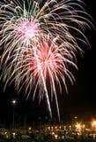 Feuerwerkbildschirmanzeige 1 Stockfotos