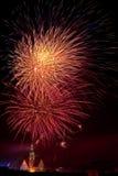 Feuerwerkbildschirmanzeige 2009 in Olsztyn #4 Stockfotografie
