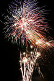 Feuerwerkbildschirmanzeige stockfotografie