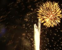 Feuerwerke #1 Lizenzfreies Stockfoto