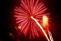 Feuerwerke 1 Lizenzfreies Stockbild