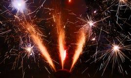 Feuerwerke 2 Stockbilder