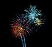 Feuerwerke 3 Stockfotografie