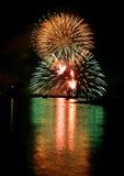 Feuerwerke Lizenzfreies Stockbild