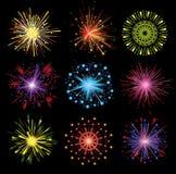 Feuerwerke Stockbilder