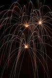 Feuerwerke 2 Stockbild