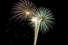 Feuerwerke 2 Lizenzfreies Stockfoto