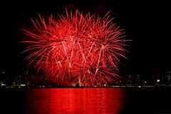 Feuerwerke 2 Lizenzfreies Stockbild
