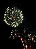 Feuerwerke 2008 - 4 Lizenzfreies Stockbild