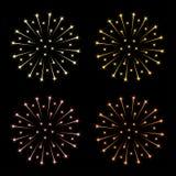Feuerwerke Stockbild