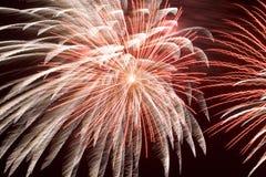 Feuerwerke (2561) Lizenzfreies Stockfoto