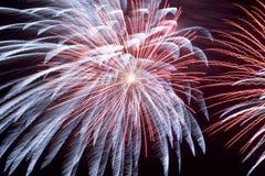 Feuerwerke (2561b) Lizenzfreies Stockbild