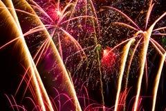 Feuerwerke. Lizenzfreie Stockfotos