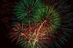 Feuerwerke. Lizenzfreie Stockbilder