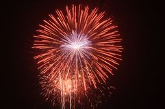 Feuerwerke 313 Stockfotos