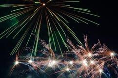 Feuerwerke 5 lizenzfreies stockbild