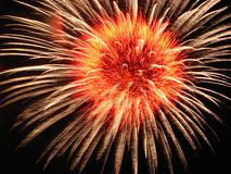 Feuerwerke Lizenzfreies Stockfoto