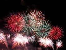 Feuerwerke Lizenzfreie Stockbilder