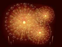 Feuerwerke Lizenzfreie Stockfotos