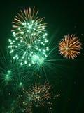 Feuerwerke (4) stockbilder