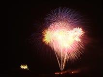 Feuerwerke lizenzfreie stockfotografie