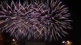 Feuerwerke stock footage