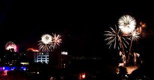 Feuerwerke 7 Stockfotos