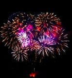 Feuerwerke 6 Lizenzfreies Stockfoto