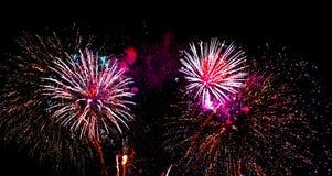 Feuerwerke 5 Lizenzfreie Stockbilder