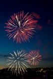 Feuerwerke 5 Stockbild