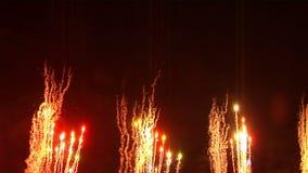 Feuerwerke 11 stock video