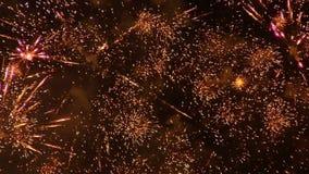 Feuerwerke 21 stock footage