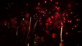 Feuerwerke 2 stock video footage