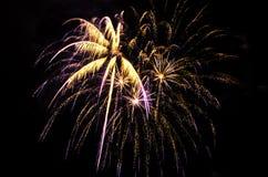 Feuerwerke 2017 stockfoto