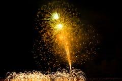 Feuerwerke Danang Vietnam 2013 Lizenzfreies Stockfoto