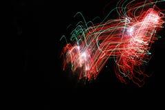 Feuerwerke der großen Höhe ab 2012 in Berlin, Deutschland Lizenzfreie Stockfotografie