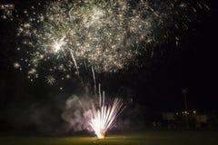 Feuerwerke in der toskanischen Stadt von Lastra ein Signa Stockfotos