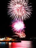Feuerwerke eins Stockbilder