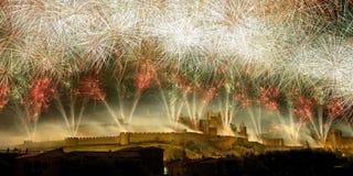 Feuerwerke fünf Lizenzfreie Stockbilder