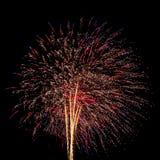 Feuerwerke für neues Jahr Stockfotografie