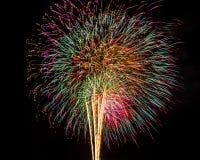 Feuerwerke für neues Jahr Lizenzfreies Stockfoto