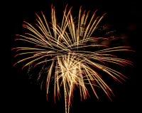 Feuerwerke für neues Jahr Lizenzfreies Stockbild
