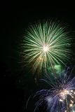 Feuerwerke - Feuerwerk Stockfotografie