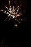 Feuerwerke-Fuegos artificiales Lizenzfreie Stockfotografie
