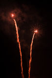 Feuerwerke-Fuegos artificiales Lizenzfreie Stockbilder