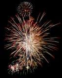 Feuerwerke getrennt Stockfoto