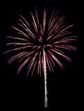 Feuerwerke getrennt Lizenzfreie Stockfotos