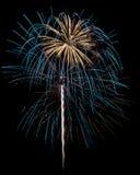 Feuerwerke getrennt Lizenzfreies Stockbild