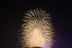 Feuerwerke in Hanoi Stockfotos