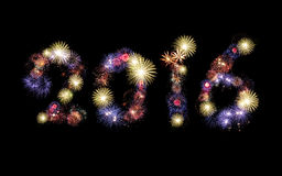 2016 Feuerwerke Hintergrund, Partei Stockfotos